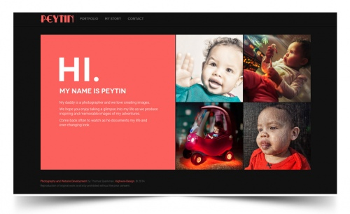 Peytin | Baby & Toddler Photography Website